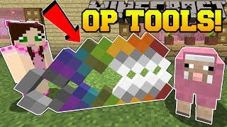 Minecraft: MEGA TOOLS!!! (GIANT OVERPOWERED TOOLS!)