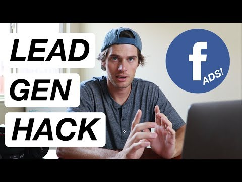 Lead Generation with Facebook Ads 2018