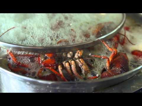 Как готовить раков - видео