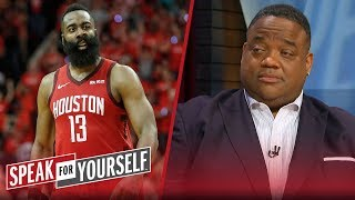 James Harden's toughness has the Warriors in real trouble — Whitlock | NBA | SPEAK FOR YOURSELF