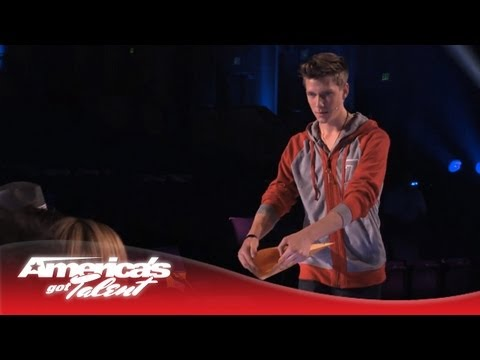 Collins Key - Teen Magician Wows AGT Judges - America's Got Talent 2013