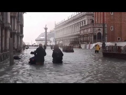Venice under Water - no comment