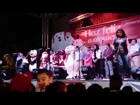 Encienden Arbol de Navidad en Zacoalco