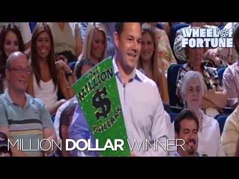 Wheel Of Fortune First Million Dollar Winner YouTube