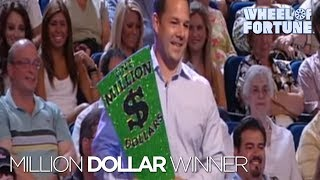 Wheel of Fortune: First Million Dollar Winner!