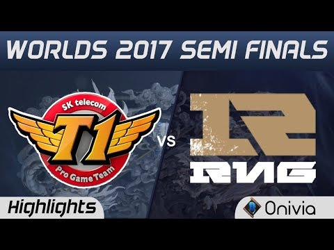 SKT vs RNG Highlights Game 1 World Championship 2017 Semi Finals SK Telecom T1 vs Royal Never Give U