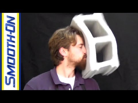 FlexFoam-iT! X Concrete Block Foam Prop | Casting Quickies