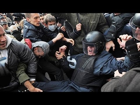 Ukraine police fire tear gas to disperse protest in Kiev - no comment