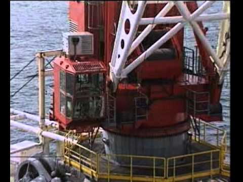 How does crane operator perform daily routine jobs in Offshore RIG?