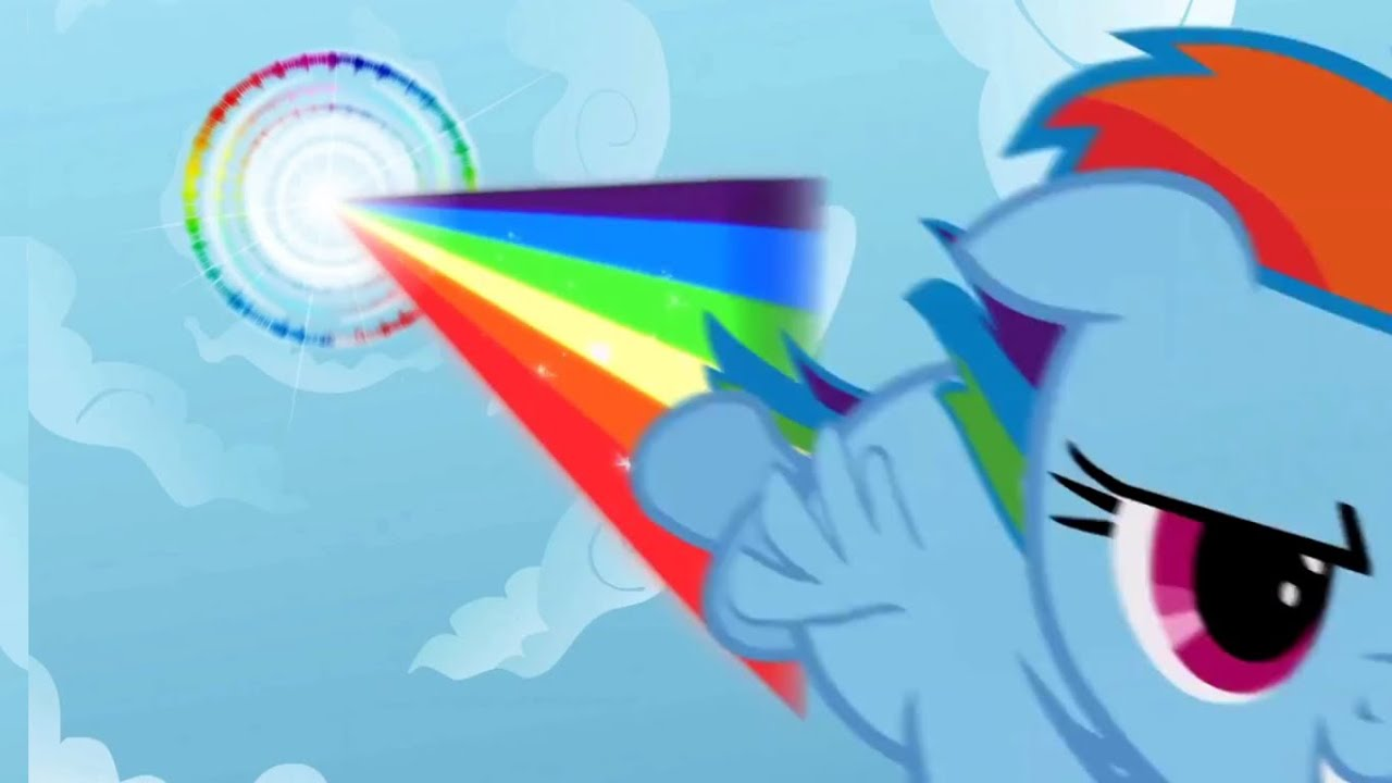 Rainbow Dash's Sonic Rainboom - My Little Pony: Friendship ...
