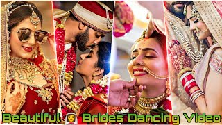 Part-9 Newly Married 👰 Brides Trending Dancing Tiktok Videos | Married Couple Dancing Tiktok Videos