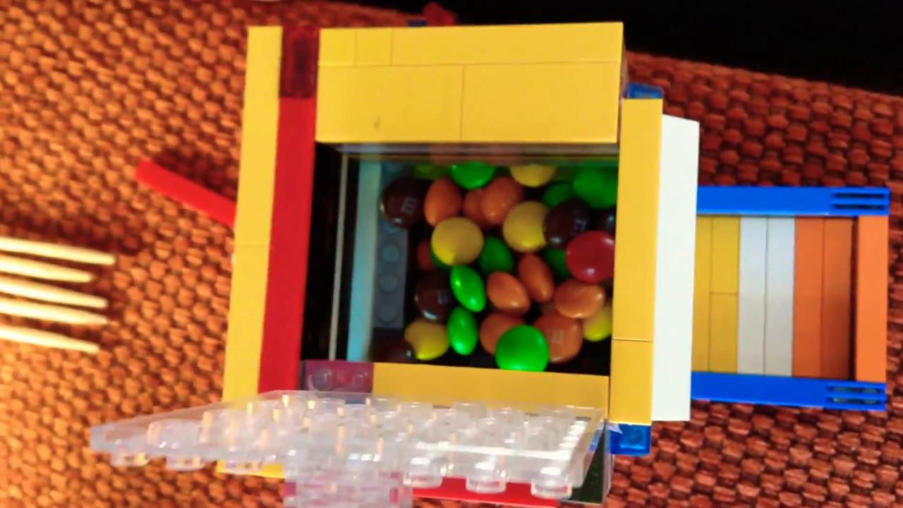 Как сделать из лего автомат для продажи яблок