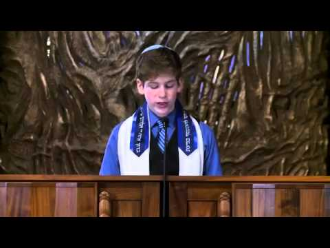 Duncan Mcalpine Sennett, Oregon Teen, Delivers Bar Mitzvah Speech In Support Of Gay Marriage video