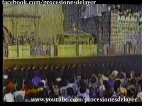 Viernes Santo 1988 - Señor Sepultado de la Escuela de Cristo - Antigua Guatemala - Guatemala C.A.