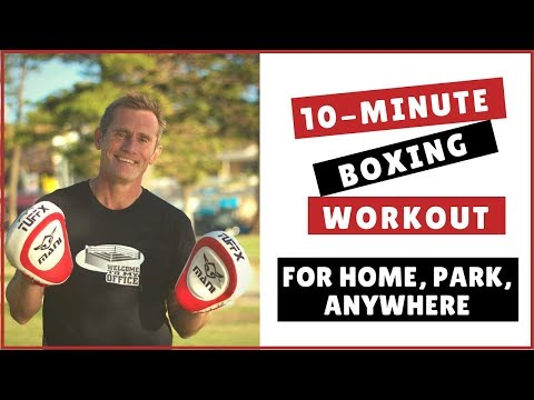 10 minute Boxing Workout - Bronze Level for home,park,anywhere Image 1