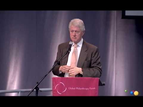 Global Philanthropy Forum 2007: Bill Clinton