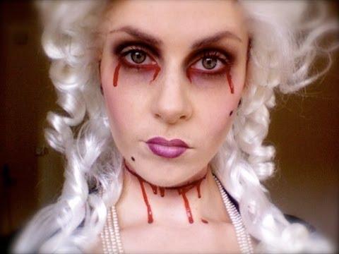Ghost Halloween Makeup