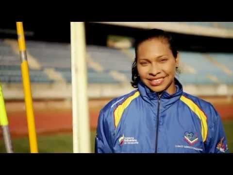 Yusbeli Parra Jabalina atleta venezolana Juegos Olímpicos Londres 2012