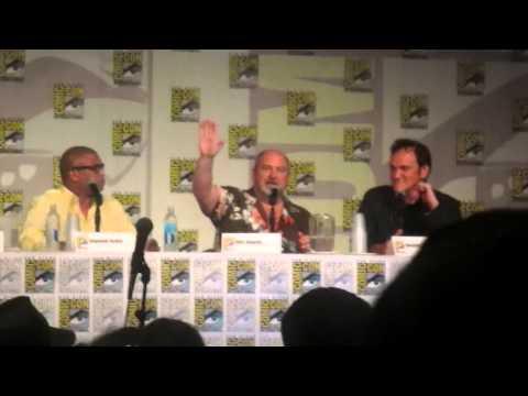 Quentin Tarantino at Comic Con 2014