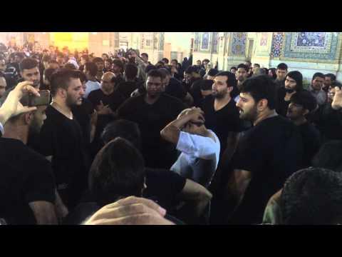 Pursa Mashad Harram Imam ALi Raza swt Ayyam e Fatmiyya swt 2014