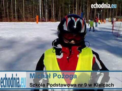 Uczniowie kieleckich szkół rywalizowali na nartach