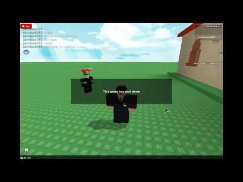 To shutdown admin servers in kohls admin house roblox 2013 youtube