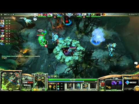 Kaipi vs Evil Geniuses LB Final Game 2   The Defense DOTA 2 Playoffs   TobiWan