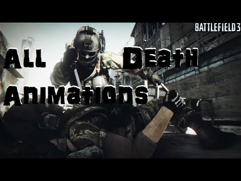 Battlefield 3: All knife and other death animations in slow motion