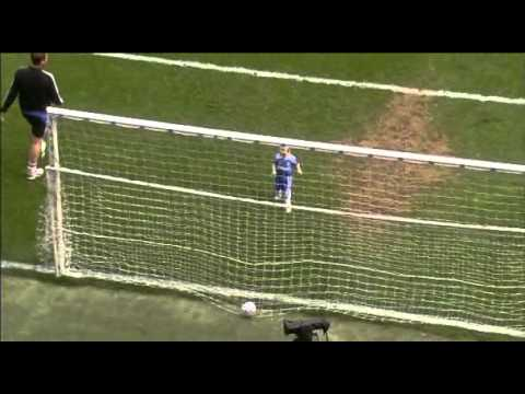 Branislav Ivanovic's son scores a goal.