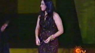 Actress.MEENA is Dance Performing in the open Stage
