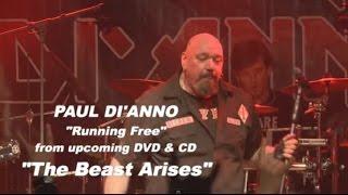 PAUL Di' ANNO - Running Free (live)