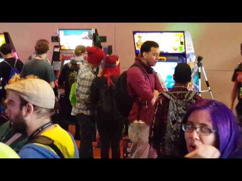 Arcade Party at PaxEast 2016 Boston, games from 1978-2016 represented!