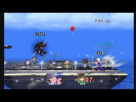 SSBB - Pelca (Falco) Vs Koolaid (Pit) - Grand Finals - Mega Mass Madness