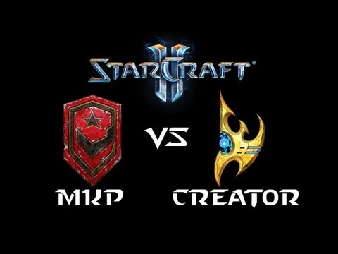 StarCraft 2 - MarineKing [T] vs Creator [P] (Commentary)