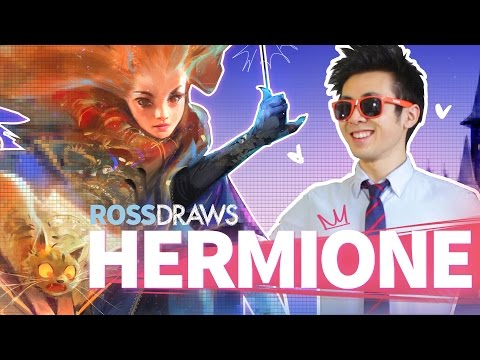 RossDraws: HERMIONE!! (Harry Potter)