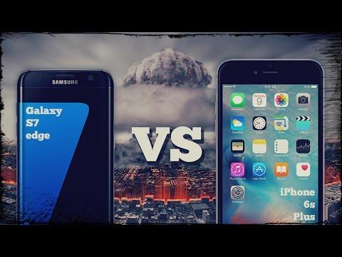 iPhone 6s Plus VS Galaxy S7 edge УЛЬТРА сравнение