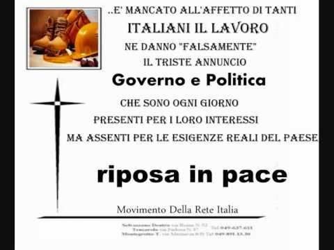 GOVERNO MARIO MONTI 5 piazzapulita tgcom24 la7 le iene striscia la notizia ballaro' sindacati