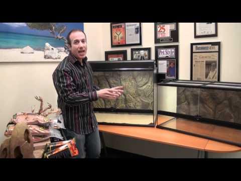 Large Exo Terra Desert Glass Terrarium Kits - Complete Exclusive Reptile Setups