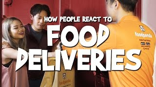 How People React To Food Deliveries