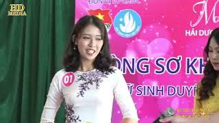 """Sơ khảo Cuộc thi """"Nữ sinh duyên dáng tài năng """" Miss Hải Dương 2018"""