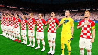 France vs Croatia | FINAL FIFA World Cup RUSSIA 2018 Gameplay