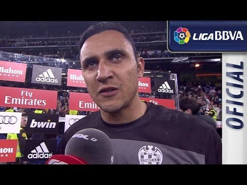 Entrevista | Interview Keylor Navas tras el Real Madrid (3-0) Levante UD - HD