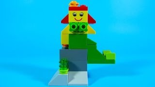 How To Build Lego MERMAID - 4630 LEGO® Build & Play Box Building Instructions For Kids