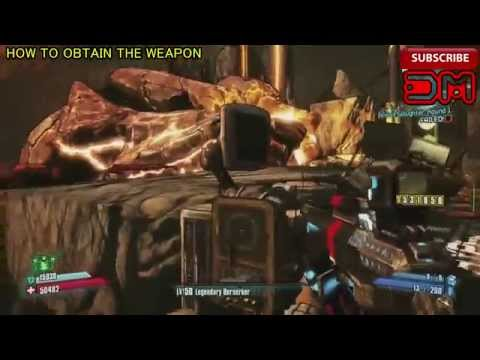 Borderlands 2 : How to Get Severe Shredifier - Legendary Weapon