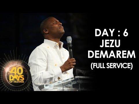 Pasteur Grégory Toussaint | 40 DAY FAST - 6ème Jour | Jezu Demarem | Tabernacle de Gloire