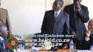 """I don't trust the pink""white"" man at all, never"" Legendary president Mugabe says"