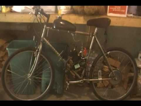 motorized bicycle (Grubee Skyhawk GT2B 48cc Black Finish Angle Fire)