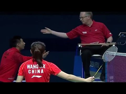 WS WANG Shixian vs Saina NEHWAL Destination Dubai 2014: Day 1 - Match 6
