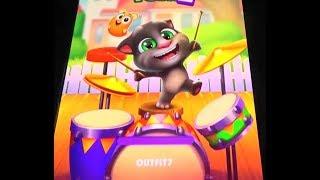 Drums,Smoothies  in My Talking Tom 2