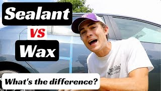 Car Paint Sealant VS Wax: What's the difference & When to use them!